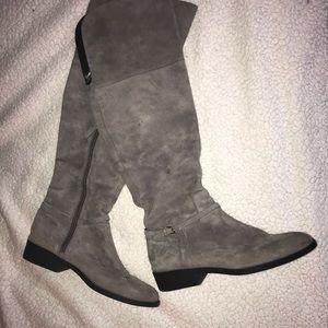Cole Haan Grand Collection Knee High Suede Boots
